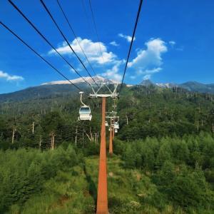 木曽御嶽夏山登山に行って来ました