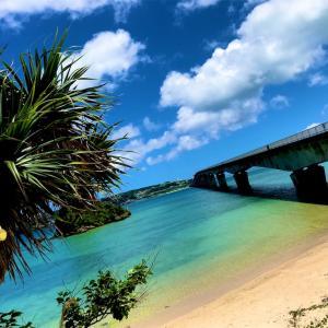 梅雨明け! 沖縄 夏空と癒しの海