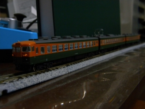 KATO 165系旧製品に室内灯