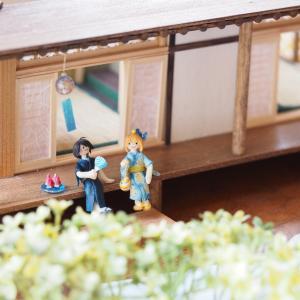 日本家屋風の和風ドールハウス作成中!