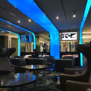 エバー航空ラウンジがお気に入りです。〜バンコクスワンナプーム国際空港〜