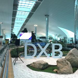 エミレーツ航空ビジネスクラスラウンジ 出発前にシャワーは必ず@ドバイ国際空港
