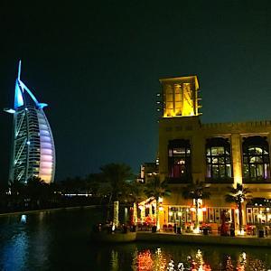 ドバイ アラビアンなホテル ジュメイラ・ミナ・アサラムにチェックイン