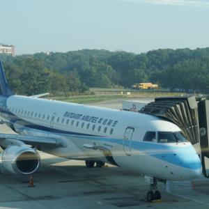 華信航空 Mandarin Airlines 東京成田⇒台中の旅