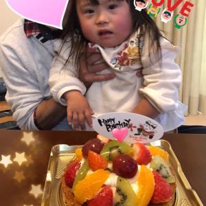 ☆4歳のお誕生日おめでとう☆