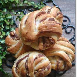 あんこさん成形で餡子と胡桃のパンと王子のトイトレその後…と姫もトイトレ?