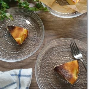 【天ぷら粉】レシピ有☆バスク風チーズケーキに挑戦!子供は奪い取る旨さ(笑)