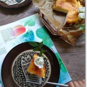 子供達と作ったバスク風チーズケーキ★たかが4g…されど4g!今週のオニギリ