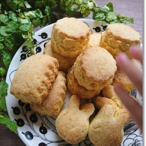 【天ぷら粉】スコーンを作ってみた結果と王子と姫は関西弁と東北弁のハイブリット?