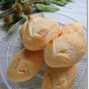 【お月見パン】子供達のチャチャ入れありつつ…なんとかうさぎパン(からすのパン屋さん)