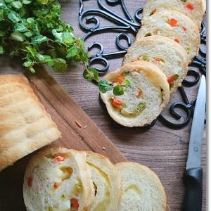 【ワンオペパン焼き】冷凍MIXベジタブルとチーズのラウンドパンとホクホク焼き芋を公園で♪