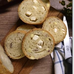 薩摩芋とクリチのラウンドパンと4歳王子「団体生活にも乱れが」と言われると。。。