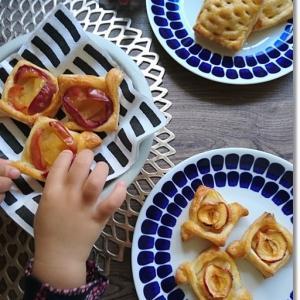 収穫祭で戴いた林檎を美味しく食べたい!王子と早朝に作ったアップルパイ!とお手紙。