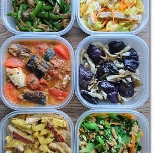 【今週の常備菜】タンパク質多めにしたけど。。。と久しぶりの家族時間は!?