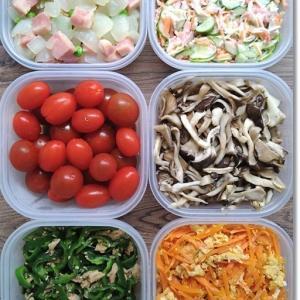 【今週の常備菜】タンパク質が足りん!とワンオペスタート「僕がトトになってあげる💕」