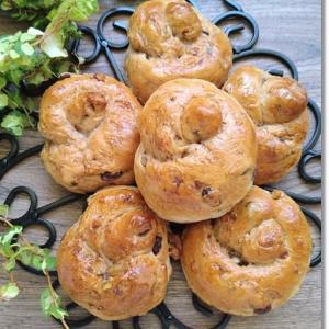 ノアレザンシングルノット☆いつも美味しいパンを感謝します!と王子の便秘と姫の軟便