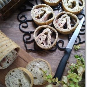 大穴!ベーコンとチーズのラウンドパンと朝からドタバタ。。。1日引き籠りの結果
