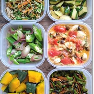 【今週の常備菜】夏野菜と楽天マラソンで届いた神食材!と姫が強すぎて王子が…