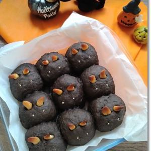 【ハロウィンパン】お願いだから黒猫と言わせてnaちぎりパンと王子ブロックでクワガタ