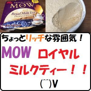 【グルメ】ちょっとリッチな雰囲気!MOWロイヤルミルクティー!!(^^)V