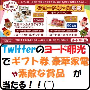 【節約生活】ヨード卵光のTwitterでギフト券、豪華家電や素敵な賞品が当たる!!