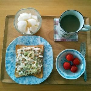 酢キャベツの朝食その3とラグビーワールドカップ