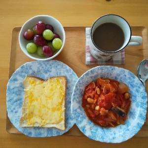 ミネストローネの朝食