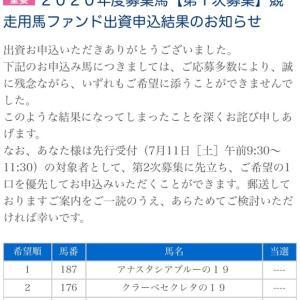 なんと全滅‼️社台/サンデー/G1募集2020