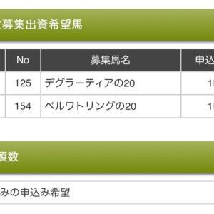【募集2021-6】(申込完了)社台/サンデー/G1一次募集