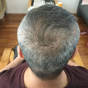 おうち理髪 初めての挑戦