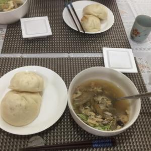 今日の一品 海鮮スープ