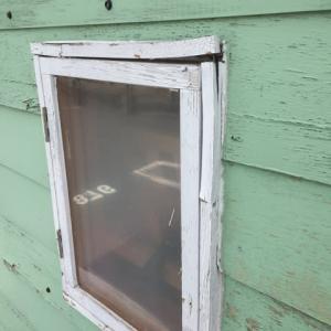 キャンピングトレーラー改修 (20) 窓ユニット作り替え その1