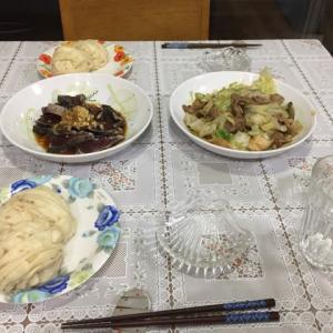 今日の一品 カツオのカルパッチョと豚キャベツの味噌焼き
