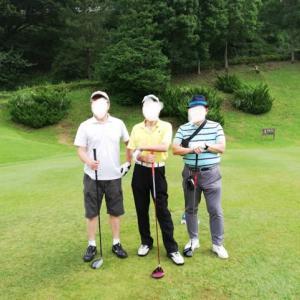 今年初めてのゴルフ ② ゴルフ場で二つの初物