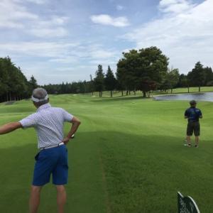 晩夏のゴルフ その3 阿見ゴルフクラブ