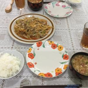 今日の一品 酸辣汤(サンラータン)風豚肉と白菜のトマト煮