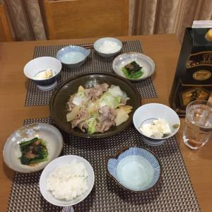 今日の一品 夕飯は上海風中華料理