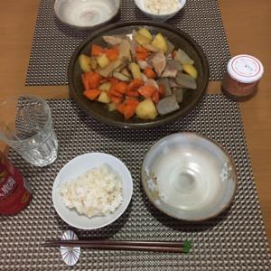 今日の一品 豚肉と野菜の甘酢煮