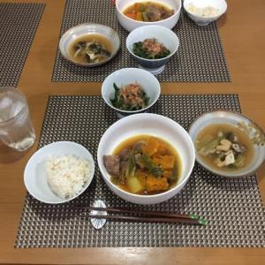 今日の一品 牛肉と野菜の煮込み