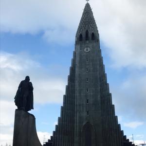 《アイスランド観光①》レイキャビク到着