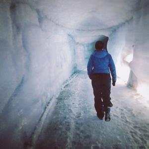 《アイスランド観光④》Glacier Ice Cave!!!!