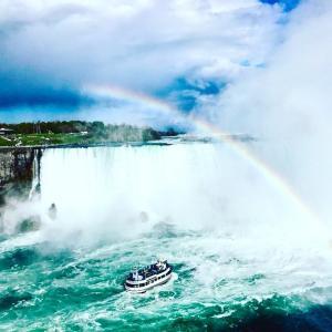 《カナダ観光》ナイアガラの滝