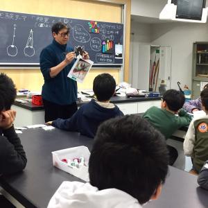 【報告】ダ・ビンチ サイエンス立川教室 1月度テーマ「視覚と3D」