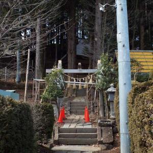 長野県岡谷市・間下十五社神社(2018-3撮影)
