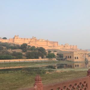 ジャイプル(Jaipur)旅行2日目〜アンベール城