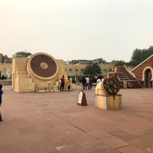 ジャイプル(Jaipur)旅行3日目〜ジャンタル・マンタル
