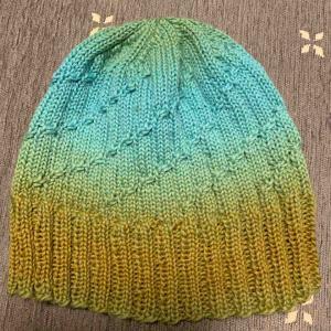 帽子完成!