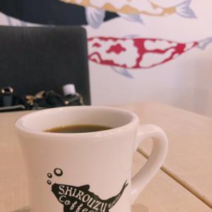 警固カフェ シロウズコーヒーのモーニングコーヒー