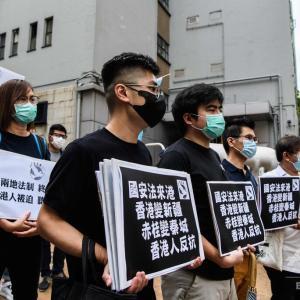 香港国家安全法制が可決