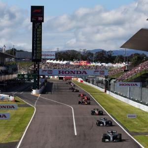 F1日本グランプリ中止決定